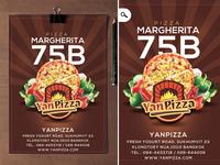 Flyer Yanpizza