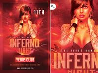Inferno Night Flyer