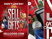 Sell Christmas Gifts Flyer