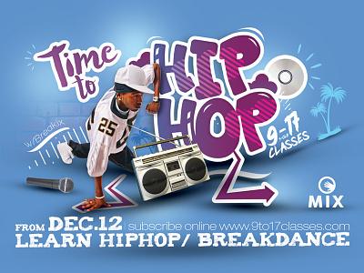Hip Hop Session Flyer flyer session dancer street jam music school lesson dance breakdance hiphop hip hop