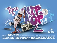 Hip Hop Session Flyer