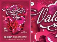 St Valentine Day Flyer