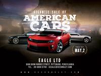 Us Car Sale Flyer
