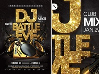 Dj Battle Night Flyer