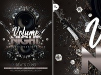 Volume Night Party Flyer Template