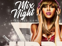 Urban club night party 05