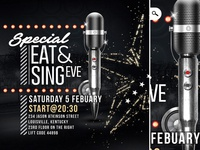 Flyer Eat And Sing Eve