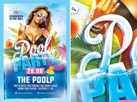 Pool Summer Party Flyer