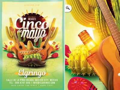 Mexico Cinco De Mayo Flyer