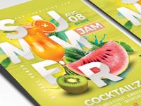 Fruity summer punch flyer 2