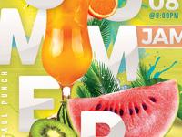 Fruity summer punch flyer 5
