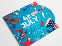 4th of july usa flyer party 3