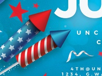 4th of july usa flyer party 5