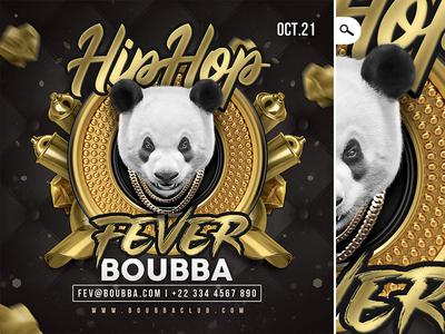 Hiphop Eve Flyer