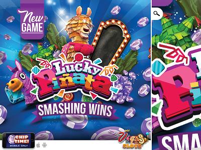 lucky pinata new game - smashing wins visual free introduction chip gambling gain win smashing game new piñata lucky