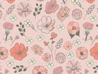 Floral Surface Design