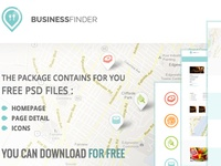 Free Businessfinder PSD's files