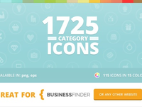 Category Icons for Business Finder