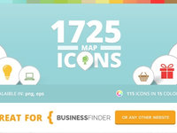 Map Icons for Business Finder