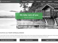SPA health & beauty WordPress theme