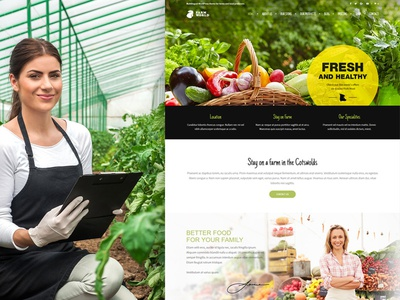 Farmworld WordPress Theme theme wordpress multilingual fresh onlinestore producers local food farm