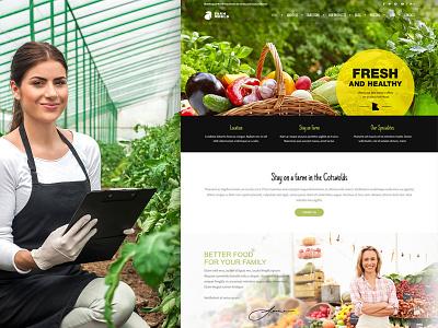 Farmworld WordPress Theme theme wordpress multilingual fresh onlinestore producers local food farm