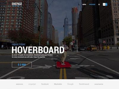 OnePage WordPress Theme theme wordpress responsive multilingual header video product startup business onepage