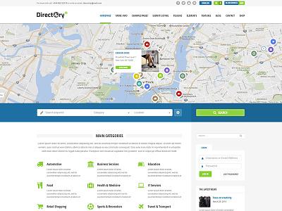 Directory+ WordPress Theme theme wordpress multilingual maps items portal listings directory
