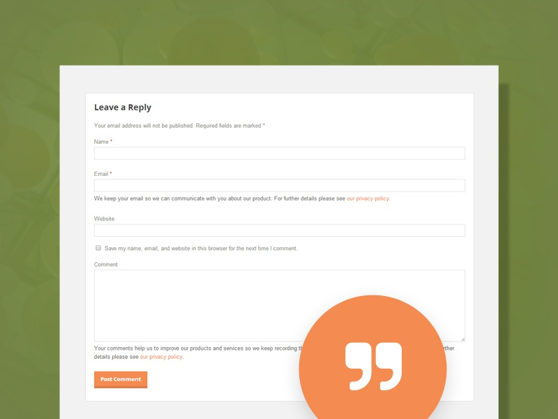 Comments Extension WordPress Plugin gdpr compliant gdpr plugin wordpress