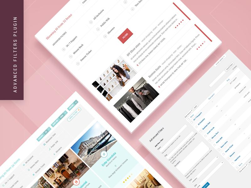 Advanced Filters WordPress Plugin plugin directory theme wordpress themes wordpress