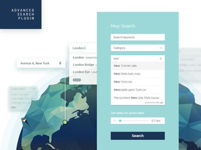 Advanced Search WordPress Plugin