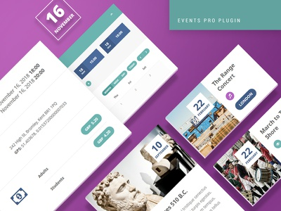 Events Pro WordPress Plugin event management events plugin directory theme wordpress themes wordpress