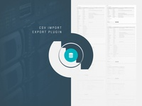 CSV Import / Export WordPress Plugin export import data transfer plugin directory theme wordpress themes wordpress