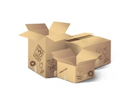 FREE PSD Boxes With Stickers