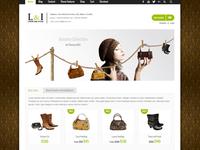 Lorem & Ipsum eShop Wordpress Theme