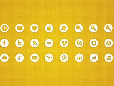 Freebie White Icons Set google map pin freebie free