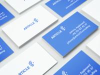 Digital Agency Business Card Mockup