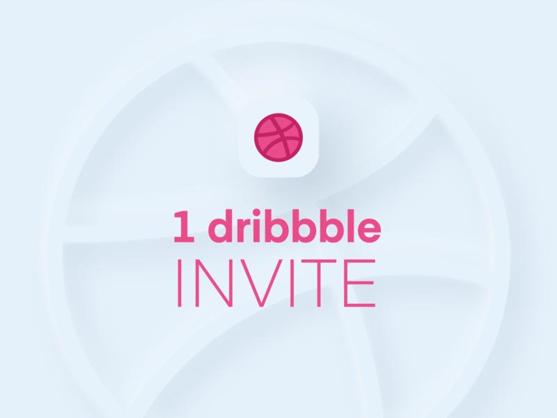 Dribbble - Invite skeuomorph skeumorphic skeumorphism neumorphic app ui agency ux mobile ui mobile app drafts draft day drafting drafted invite invitation draft