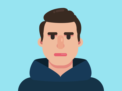 Animated Avatar Profile motion animation profile avatar avatar design aftereffects lottie character face onboarding vector devil man animated branding