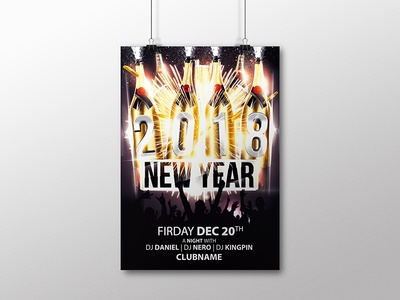 New Year Free Party Flyer flyer template new year flyer free flyer flyer free