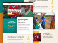 Heifer International - Integrated Campaigns Page