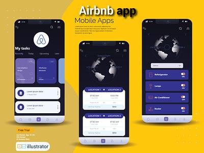 Airbnb App Design