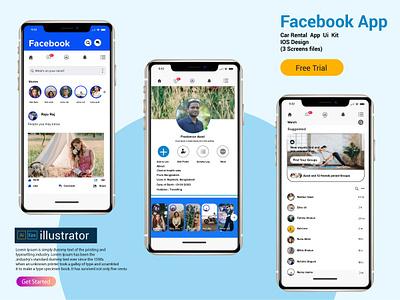 Facebook App Redesign Challenge