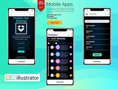 Dropbox App Redesign