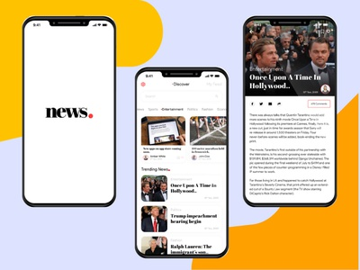 Apple News App Redesign