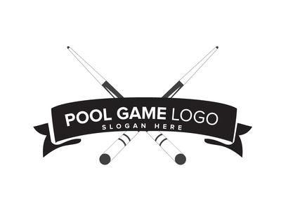 Pool Game Logo