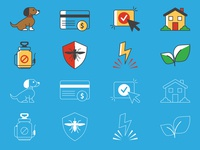 FlyFoe: Icon Set