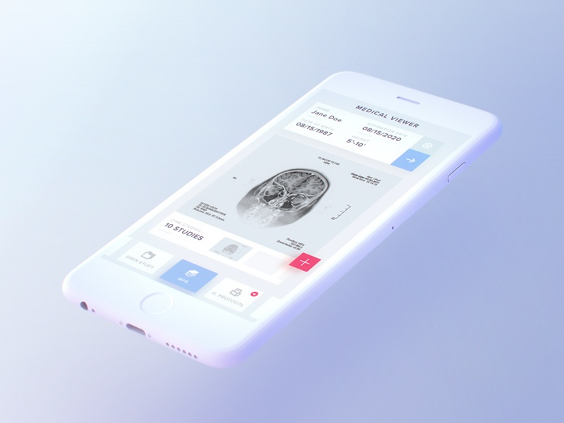 Free Light iPhone Mockup render lighting perspective free mockup iphone ui octane c4d 3d
