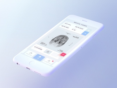 Free Light iPhone Mockup