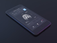 Free Dark iPhone Mockup